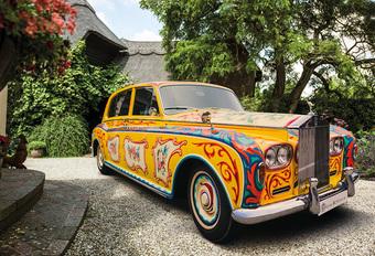 Rolls-Royce Phantom V van John Lennon keert terug naar Londen #1