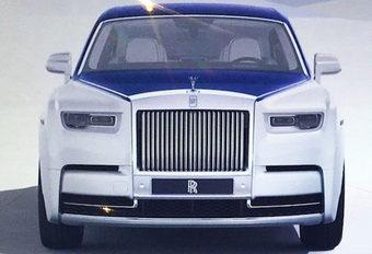 Rolls-Royce Phantom : photos volées #1