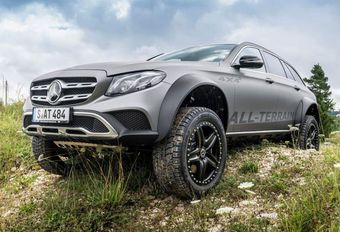 Mercedes : une Classe E All-Terrain « au carré » #1