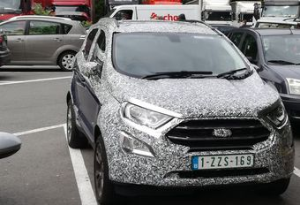 Ford EcoSport : nouvelle mouture en test #1