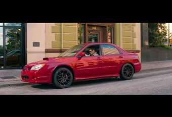 Baby Driver : la scène d'ouverture avec la Subaru #1