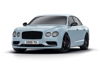 Bentley Flying Spur Black Edition : valet noir #1