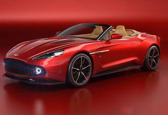 Aston Martin : la Vanquish Zagato Volante à Pebble Beach #1