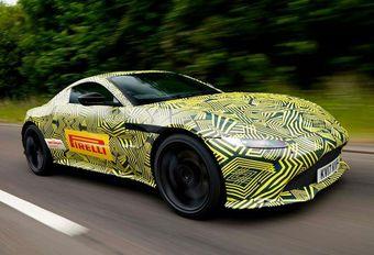 Aston Martin Vantage: eerste beelden #1