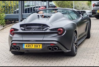 Aston Martin Zagato Speedster: de andere cabrio #1