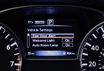 VIDÉO - Nissan : alerte pour ne pas oublier ses enfants à l'arrière #1
