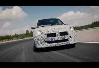 Suzuki Swift Sport op video #1