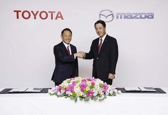 Toyota en Mazda werken samen aan elektrische auto's #1