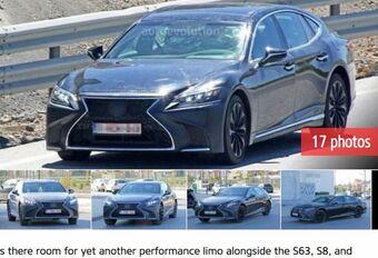 Lexus : premiers tours de roues pour la « LS F » ?   #1