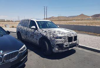 BMW X7 en test dans le Nevada #1