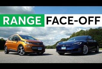 La Chevrolet Bolt (Opel Ampera-e) va plus loin qu'une Tesla #1