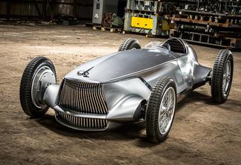 Infiniti Prototype 9 is moderne interpretatie van klassieke racer #1