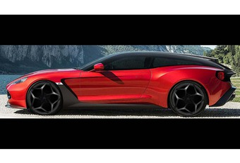 PEBBLE BEACH 2017: Vanquish Zagato, Shooting Brake of Speedster? #1