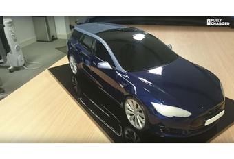 INSOLITE – Voilà le premier break Tesla Model S