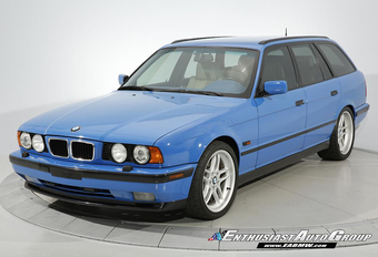 Deze E34 Touring uit 1995 is de mooiste BMW M5 ooit #1