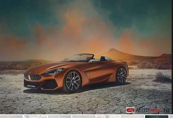 BMW Z4 2018 : en fuite sur la Toile #1