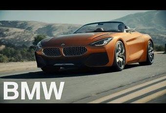 BMW Z4 : le concept en vidéo #1