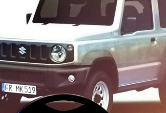 Suzuki Jimny : une seconde génération en approche !  #1