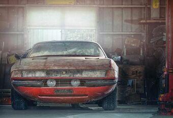 Une Ferrari Daytona unique aux enchères #1