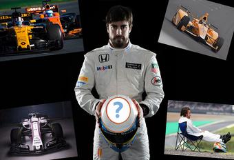 F1 2018: de opties van Fernando Alonso #1