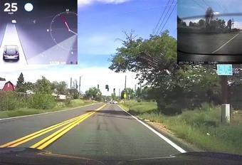VIDEO – Tesla : Voici comment fonctionne l'Autopilot 2.0 #1