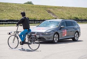 Bosch : détection des cyclistes dans le brouillard #1