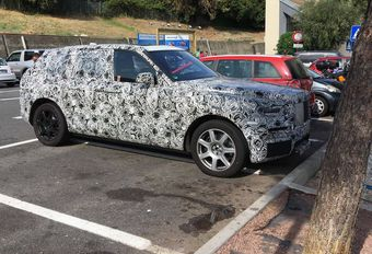 Rolls-Royce Cullinan : sur les routes de Sanremo #1
