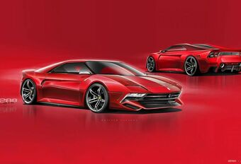 Ferrari 288 GTO, version 2020 #1