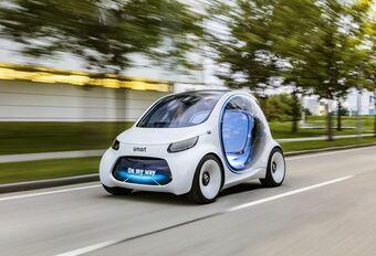 Smart Vision EQ Fortwo: autonome deelwagen #1
