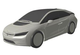BMW : le concept de l'i5 électrique à Francfort #1