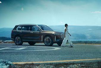 BMW X7 iPerformance : gros SUV plug-in hybride #1
