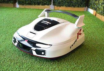 Honda : une tondeuse Type R et autonome ! #1