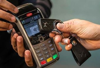 DS test sleutel die ook kredietkaart is #1