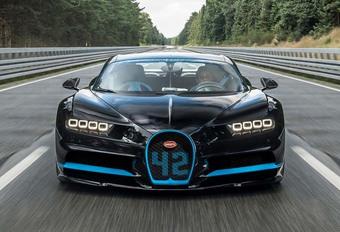 Bugatti Chiron : Record sur le 0-400-0 km/h ! #1