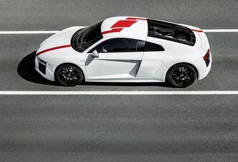 Audi R8 V10 RWS met achterwielaandrijving #1