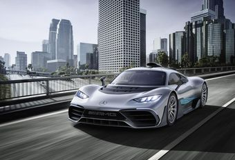 Mercedes-AMG Project One : gènes de F1 #1