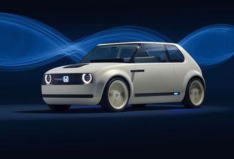 Honda Urban EV Concept: met panoramisch scherm #1