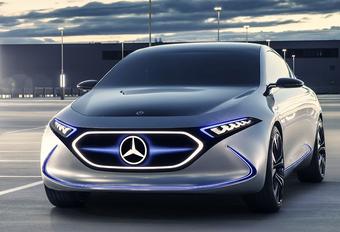 Concept EQA is elektrische Mercedes A-Klasse met 270 pk #1