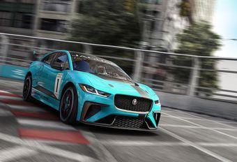 Jaguar I-Pace eTrohpy: elektrische competitie #1