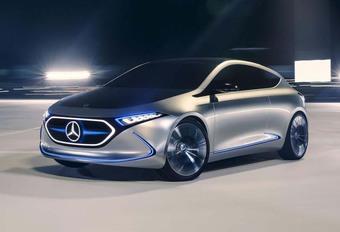 Mercedes EQA : BMW i3 et Volkswagen I.D. dans le viseur #1