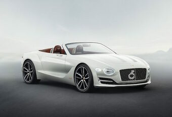 Bentley: elektrische roadster in 2021 #1