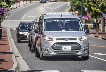 Ford : un conducteur fantôme pour tester la voiture autonome ! #1