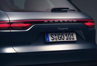 Porsche : le Cayenne Coupé toujours à l'étude #1