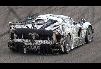 Le mulet de la Ferrari FXX K Evoluzione à Monza #1