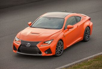 Lexus RC F : un facelift et encore plus de muscle #1