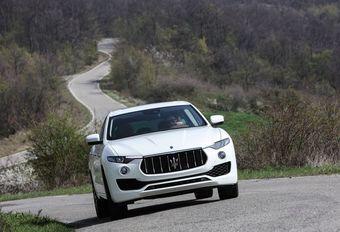 Maserati Levante : bientôt un V8 Ferrari  #1