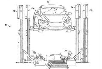 Tesla wisselt batterijen in 15 minuten #1