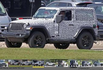 Futur Jeep Wranger 2018 : aussi en hybride #1