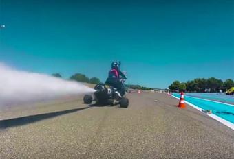 INSOLITE – Un 0-100 km/h en 0,5 s avec de l'eau et de l'air #1