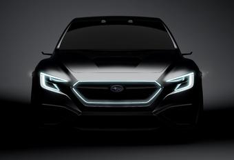 Subaru Viziv Performance : future WRX ? #1
